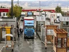 صف معطلی کامیون ها در مرز بازرگان از ۳ ماه قبل حذف شده است